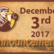 Announcements - December 3, 2017